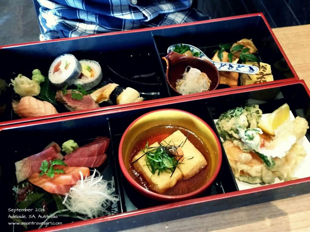 bento lunch box adelaide ichitaro dining on king william road south australia shikiri bento. Black Bedroom Furniture Sets. Home Design Ideas