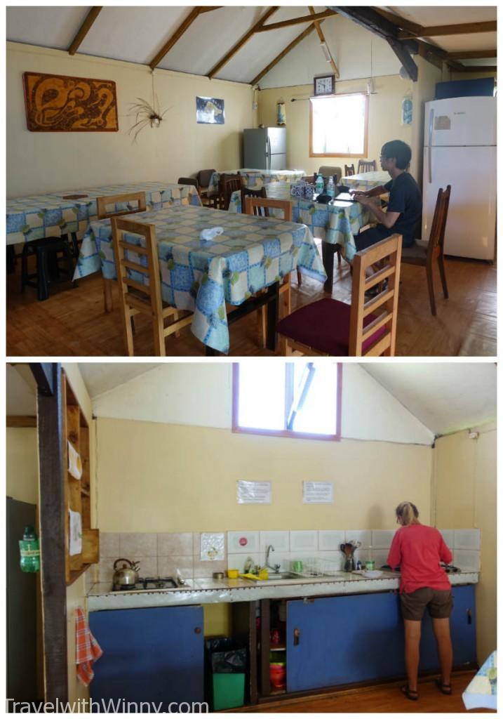 以我們目前南美旅遊六個禮拜多, 這個廚房算是最乾淨也是最完善了! 所有需要的物品都有~