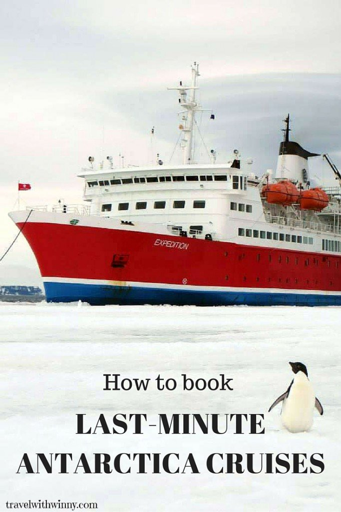 How to book last minute antarctica cruises travel with for How to go to antartica