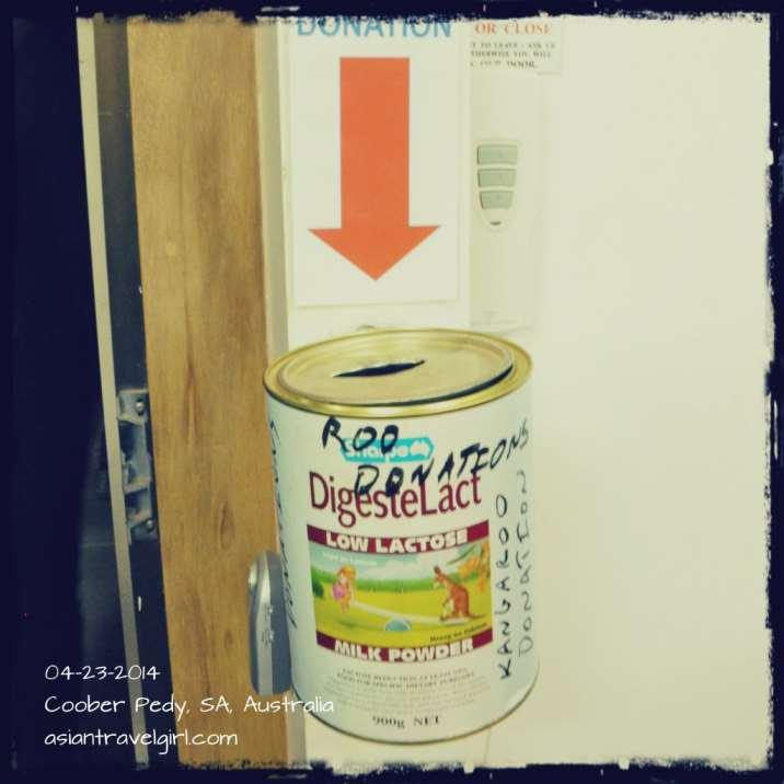 donation box 捐款箱