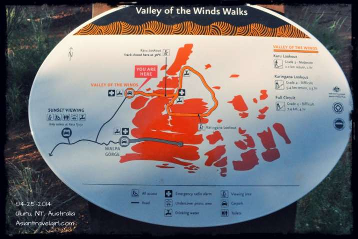 Nausicaa Of The Valley Of The Wind Map.Uluru Sunrise Kata Tjuta Valley Of The Winds Walk Travel With Winny