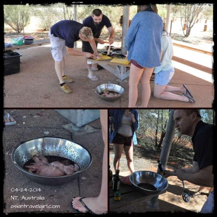 袋鼠肉 kangaroo steak.