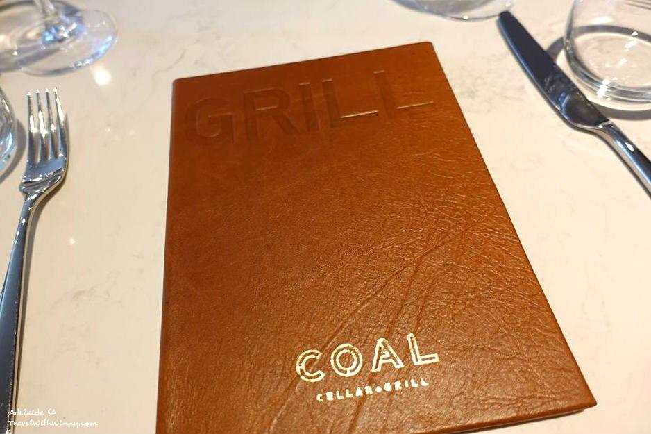 Menu at Coal Cellar + Grill