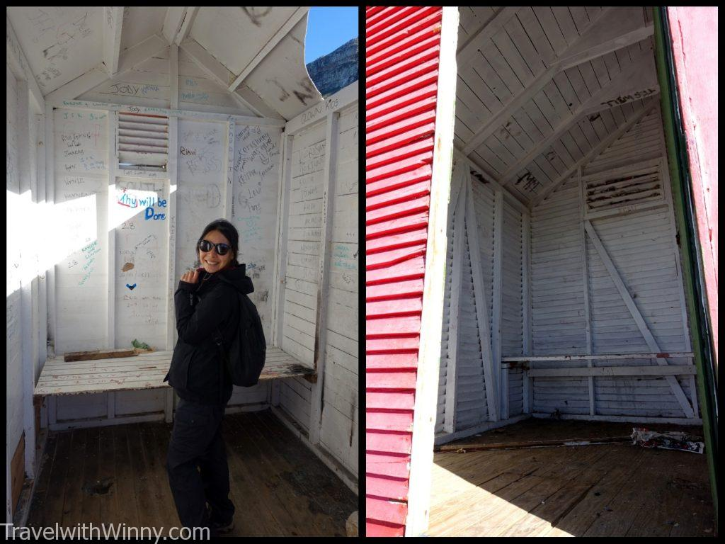 彩虹小屋 Muizenberg Beach bathing houses 南非