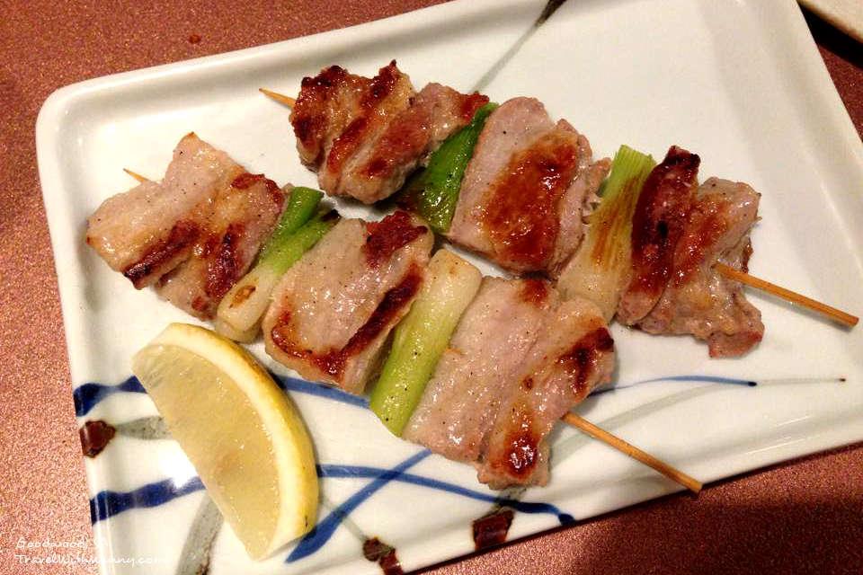 Pork Negima
