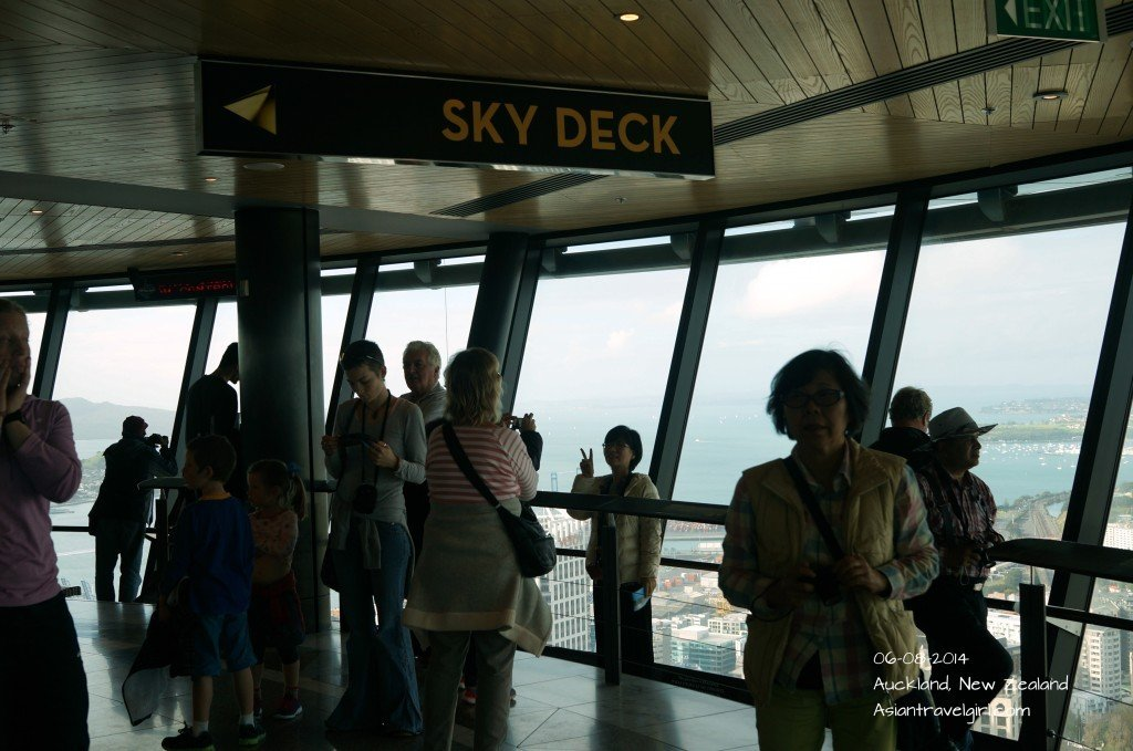 The Sky Tower Observation Deck at Level 51