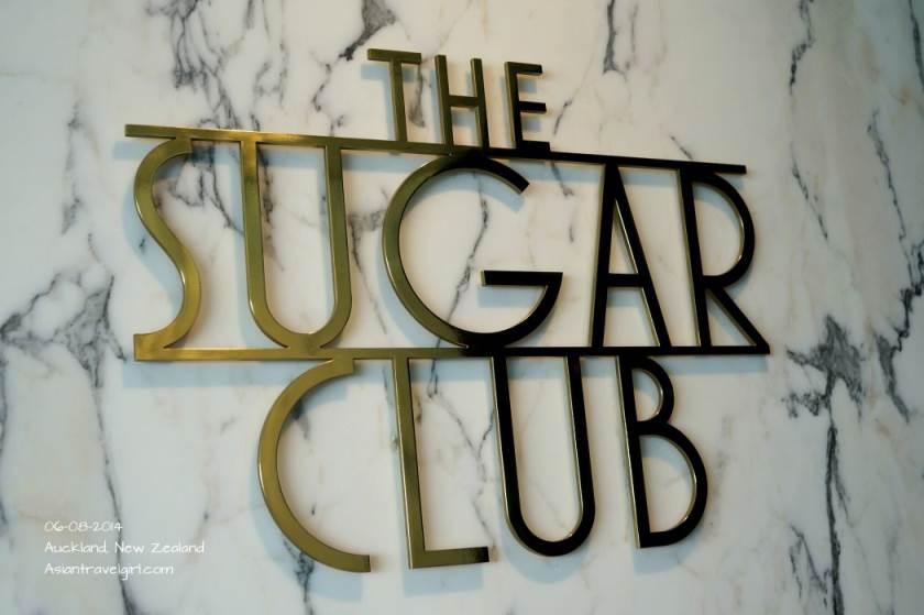 The entrance @The Sugar Club