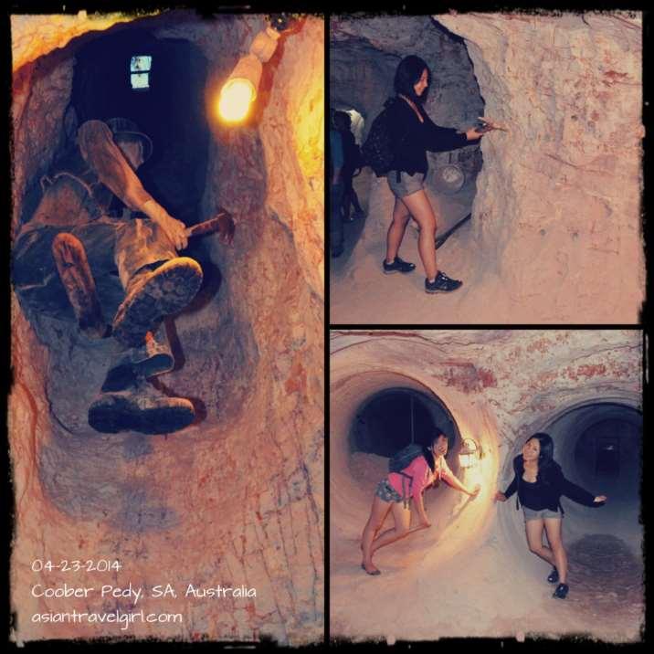 opal mine 礦物洞穴