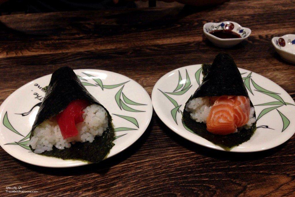 Japanese hand roll