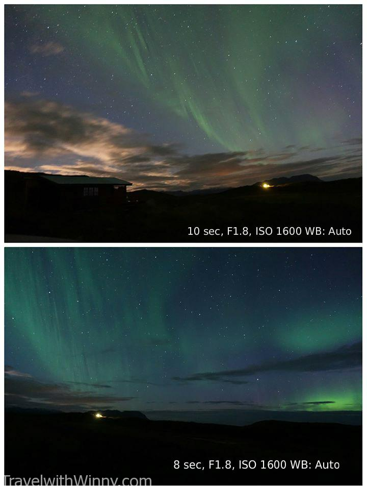 冰島 極光 how to take pictures of the northern light aurora