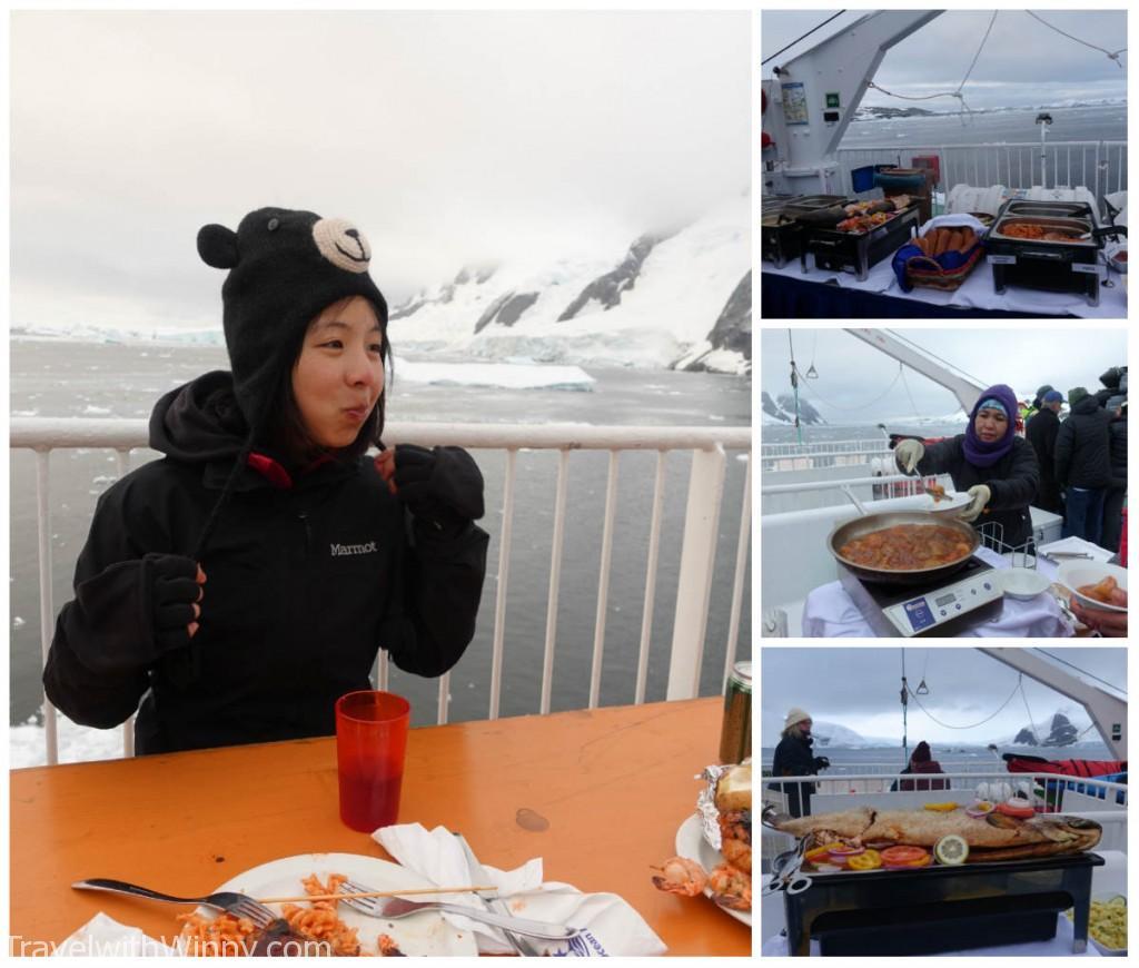 居然船上烤肉都能弄得那麼好吃! 完全頂級享受!