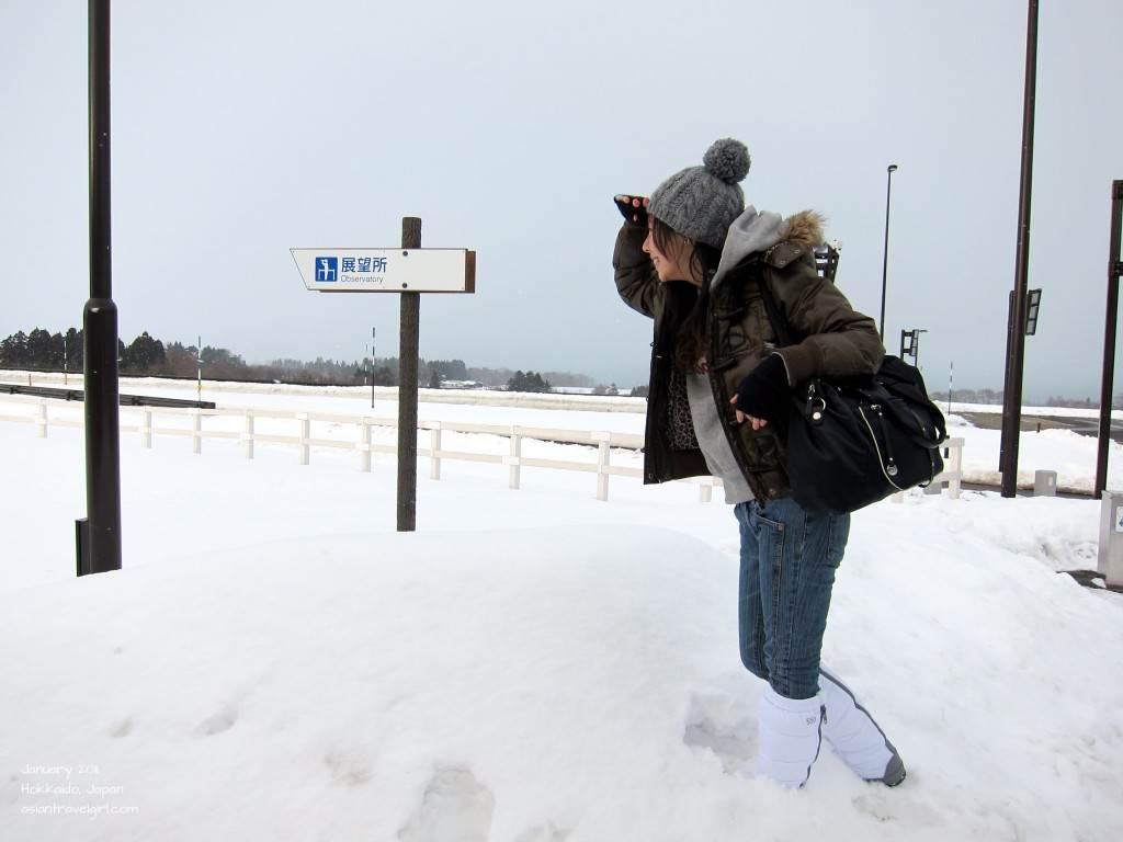 北海道冬天穿搭