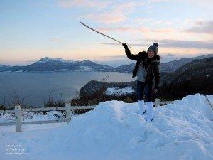 Hokkaido Japan snow winter