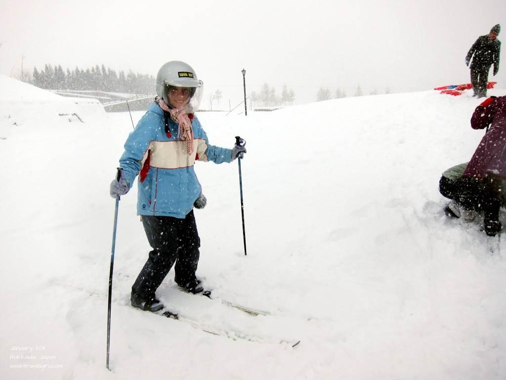 Hokkaido Japan skiing