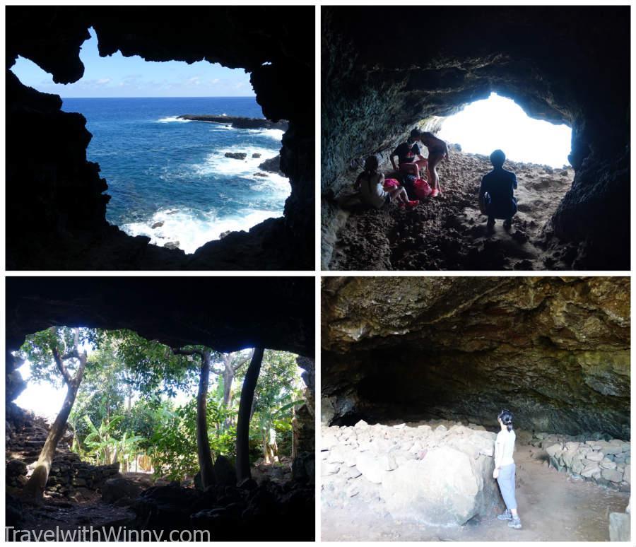 這些是其中兩個岩漿洞的照片.
