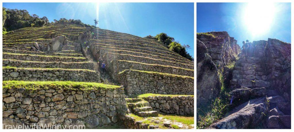 inca ruin Intipata 印加古蹟