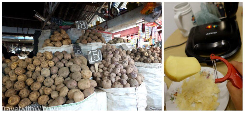 potatoes 馬鈴薯 eat on a budget