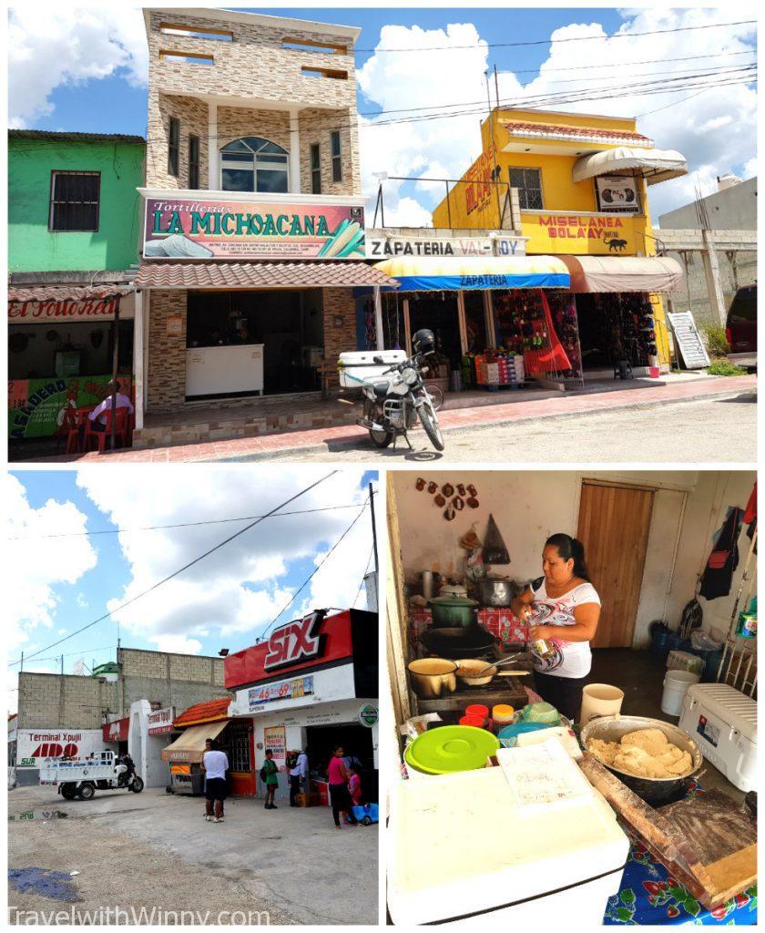Xpujil mexico 墨西哥 小鎮