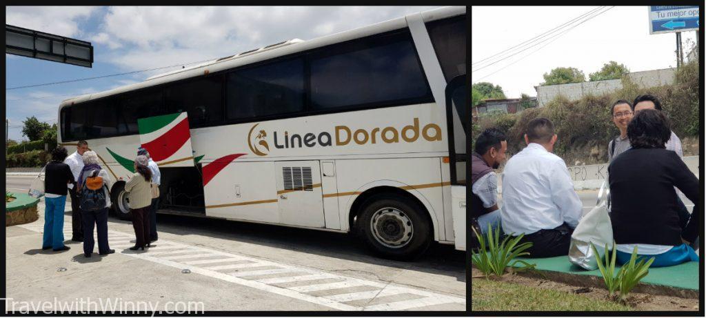 linea dorada 瓜地馬拉 公車