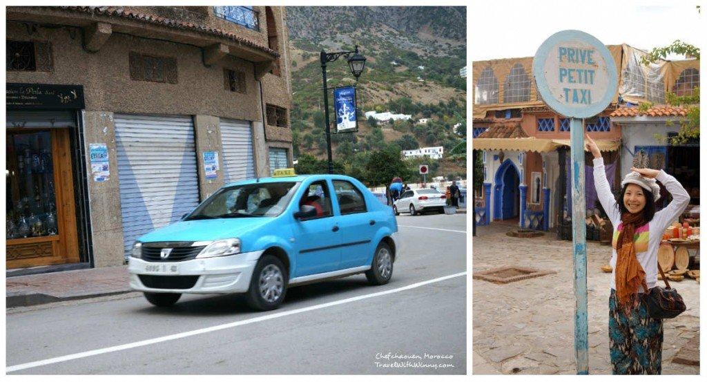 blue taxi 藍色 計程車