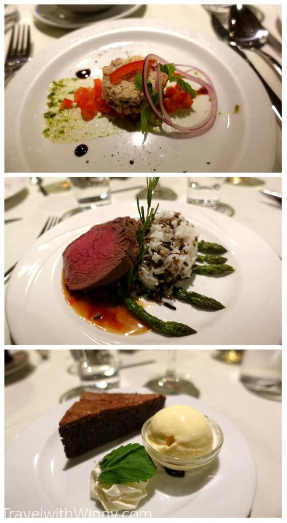 郵輪晚餐 french cuisine