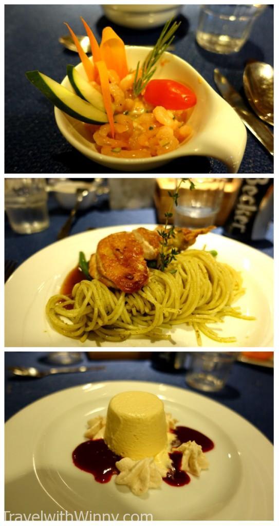倒數第二次的晚餐, 之後我們又要開始窮游了, 一定要把握機會好好吃啊!