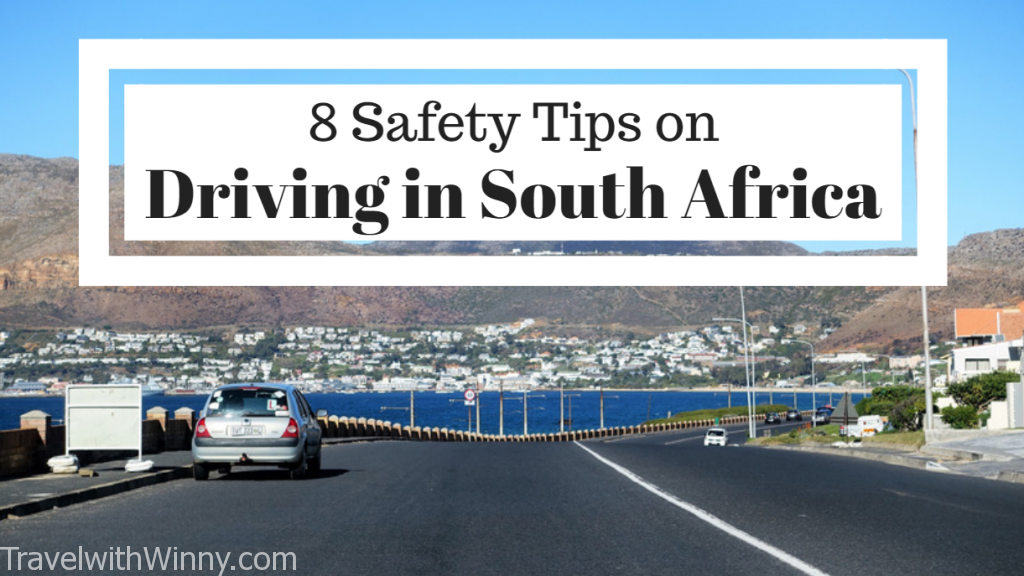 8 Safety Tips on Driving in South Africa