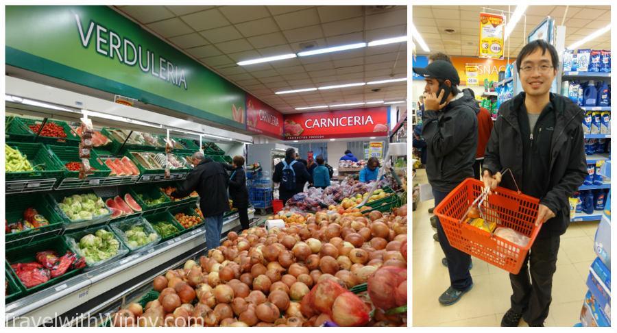 剛到 El Calafate 時很驚訝這邊的超市選擇怎麼那麼少, 結果到了 El Chalten 才了解甚麼才是少...