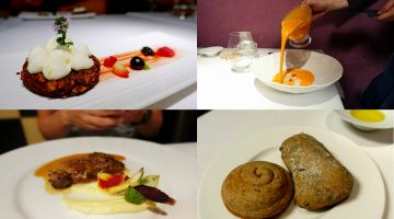 7 Course 1 Star Michelin Lunch for €35 @ Nectari Restaurant. Barcelona