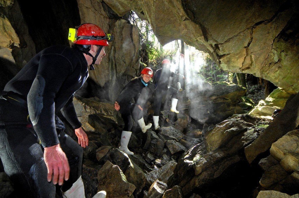 紐西蘭螢火蟲洞