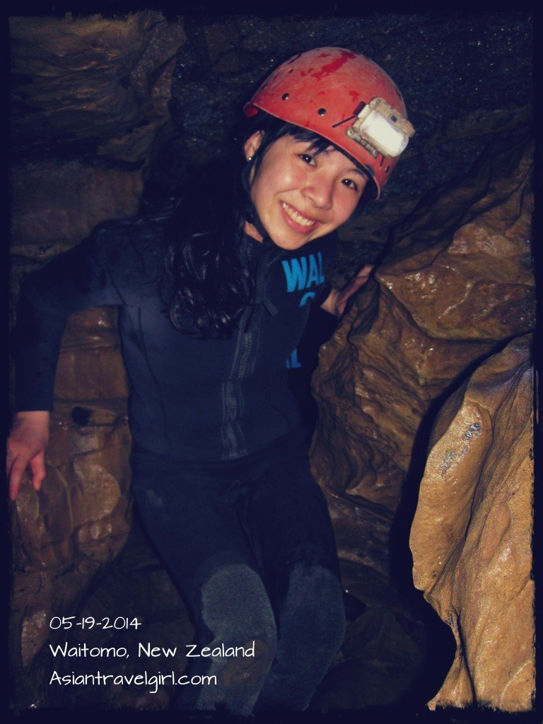 waitomo cave new zealand 紐西蘭 探險
