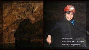 【紐西蘭】螢火蟲洞: Waitomo Caves 地底川河探險記 (黑水漂流)